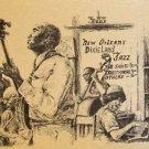 Amazing Grace New Orleans Artist Burke Jazz Band Art