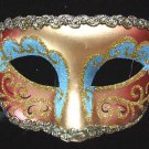 Venetain Mask Glitter Color Mardi Gras Carnival Party