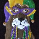 Dog Mardi Gras Bead Necklace YOUR CHOICE Retriever Jester Fire Hydrant Dogs