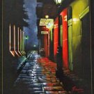 Cajun Pirates Alley Crawfish Adam Sambola Art Print New Orleans French Quarter