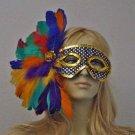 RAINBOW Sequin Mask Mardi Gras Wedding Sequin Colors