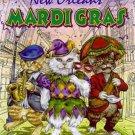 New Orleans Mardi Gras Ponce 2001 Cats Art Print Rare