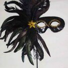 Little Black Dress Halloween Party Mask Mardi Gras Masquerade Costume Prom