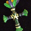 Voodoo Doll Cross Bead Revenge Prayer Power Money Luck New Orleans Magic Beads