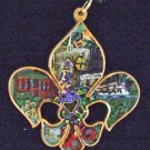 Fleur de Lis Mardi Gras Bead Necklace YOUR CHOICE MANY STYLES New Orleans Party