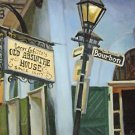 Old Absinthe House New Orleans Baltas Matted Art Print Jean Lafitte