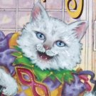 New Orleans Mardi Gras Ponce 2003 CATS Art Print Color