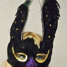 GOTH BIRD OF PREY Masquerade Ball Party Mask Costume