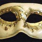Venetian Mask Mardi Gras Masquerade Ivory Gold Madrid