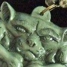 Gargoyle Knees Mardi Gras Beads New Orleans Party