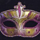 Wellington Purple & Gold Venetian Mardi Gras Mask