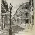 Royal Street Don Davey New Orleans Matted Art Print French Quarter