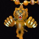 TIGER FOOTBALL TEAM GEAUX TIGERS Mardi Gras Beads