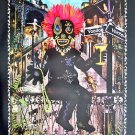 Voodoo Vortex New Orleans Mardi Gras Art Magic Famous Print French Quarter