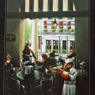 Cafe Du Monde Crawfish  Adam Sambola Art Print New Orleans French Quarter