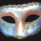 Venetian Mask Glitter Color Mardi Gras Carnival Party