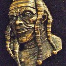 Scary Mummy Mardi Gras Bead Necklace New Orleans
