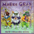 New Orleans Mardi Gras Ponce 2006 Dogs Art Print Poster