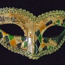 Venetian Harlequin Eye Mask Your Choice Color Mardi Gras Costume Teen Party