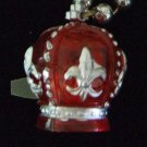 RED CROWN Royal Royalty New Orleans Mardi Gras Beads