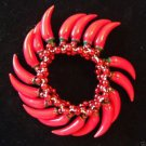 Red Hot Chili Peppers Bracelet YOUR CHOICE STYLE Mardi Gras New Orleans Party