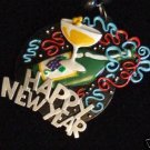 New Years Champagne Mardi Gras Beads New Orleans Party