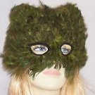 Cat Mask Feather Your Color Choice Mardi Gras New Orleans Halloween Costume