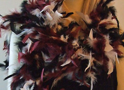 Autumn Sahara Feather Boa Glamour Masquerade Fashion New Orleans Costume Party