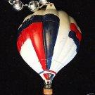 Hot Air Balloon USA Mardi Gras Necklace Beads Multi