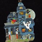 Haunted House Halloween Bead Necklace Monster Mardi Gras Necklace Beads