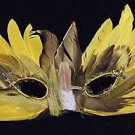 Special Mask Edition CANARY YELLOW Venetian Halloween