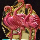 Metallic Pink Flamingo Luau Mardi Gras Beads Party