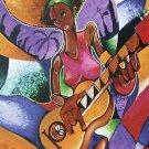 Lionel Milton Mardi Gras New Orleans Art 2004 VOODOO