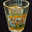 CLAW GATOR Shot GLASS New Orleans Rare Limited Shooter