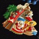 Blane Kern Roller Coaster Float Mardi Gras Beads Funny