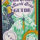 Arthur Hardy Mardi Gras Guide 1983 With Coin New Orleans Rare Parade Schedules
