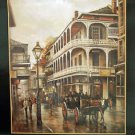 New Orleans Horse Buggy Ride Famous Art Print Bob Coleman French Quarter