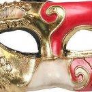 Venetian PIERROT Eye Mask Mardi Gras Costume Party Fun