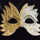 STARFIRE Venetian Masquerade Halloween GOLD GREEN Art