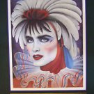Andrea Mistretta Mardi Gras Art 1986 New Orleans First Year Edition of Series