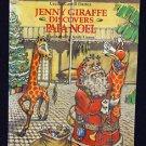 Jenny Giraffe Discovers Papa Noel Cajun Mardi Gras Hardcover New Orleans