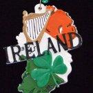 IRELAND Country Flag Shamrock Clover Mardi Gras Beads