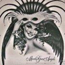 Andrea Mistretta 1997 Angels in Pink Mardi Gras Art