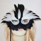 Queen Zulu Wand Mask Halloween Masquerade Ball Party