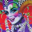 Andrea Mistretta Mardi Gras 2002 Signed By Artist Mambo Art New Orleans