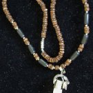 Alligator Tooth and Shell Necklace Swamp People Gator Special Edition Bayou 04