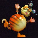 Bobble Head TIGER Mardi Gras Beads Moves Animated Fun