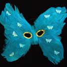 Butterly Feather Masquerade Ball Party Mask Teal Party Costume New Orleans Prom