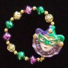 Jester Bracelet YOUR CHOICE STYLE Mardi Gras New Orleans Party Jesters