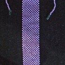 Bead Tie Purple Mardi Gras Halloween Costume Party Beads